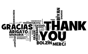Being Thankful Begins With Saying Thank You